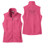 L219 - Health & Safety - EMB - Ladies Fleece Vest