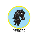 Pebble Patches - PEB022 - Horse