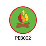 Pebble Patches - PEB002 - Campfire