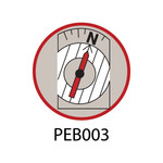 Pebble Patches - PEB003 - Compass