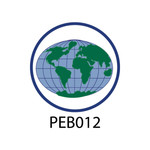 Pebble Patches - PEB012 - World