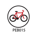 Pebble Patches - PEB015 - Bike