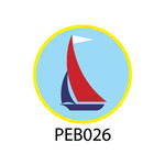 Pebble Patches - PEB026 - Sailing