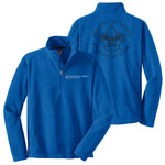 F218 - Health & Safety - EMB - 1/4 Zip Fleece Pullover